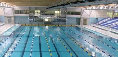 Link światłowodowy na basenie