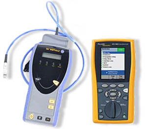 Mierniki do certyfikacji Fluke DTX-1800